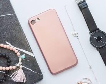 Rose Gold iPhone Case iPhone 8 Case iPhone 8 Plus Case iPhone 7 case iPhone 7 Plus Case iPhone 6s Case iPhone 6s Plus Case Rose Gold iPhone