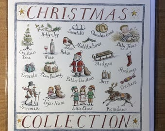 Christmas Collection, Christmas card, greetings card