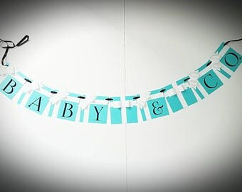 Baby & Co Baby Shower Banner
