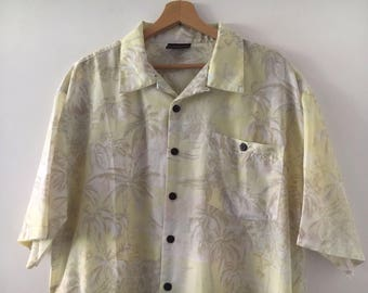 Hawaiian Shirt Vintage 90s Size XL