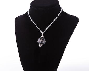 Black D20 Necklace