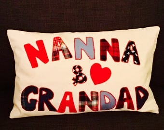 Personalised Cushion, t, personalised family gift, personalised gifts for her, personalised gift for grandparent,