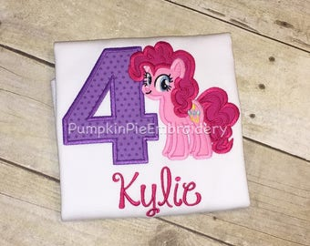 Pinkie Pie birthday shirt/1-9/My Little Pony