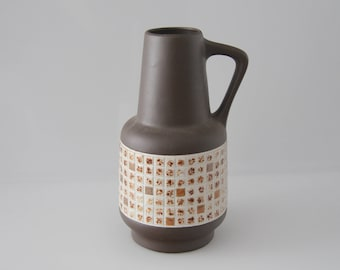 Classic vase by Sawa  West German Pottery, WGP, Fat Lava 347 25
