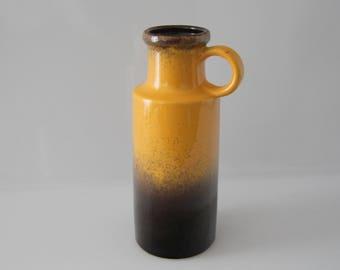 Beautiful vase by Scheurich 401-20  West German Pottery - Fat Lava WGP