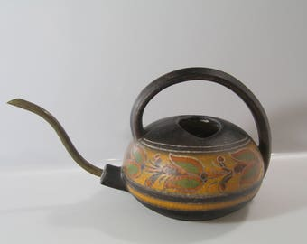 Fabulous Watering can  WGP, West German Pottery, Fat Lava (SAWA?)