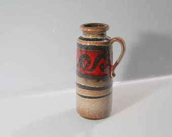 Great vase by Scheurich 401-20  West German Pottery - Fat Lava WGP