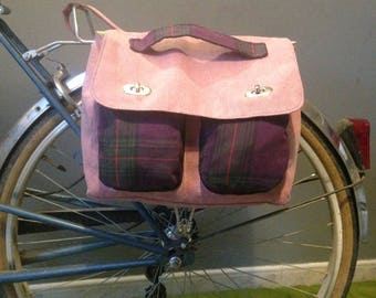 Bicycle panniers couture