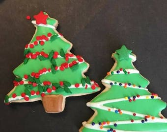 Christmas tree 12 cookies
