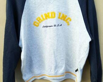 Vintage Grind Inc sweatshirt skateboard crewneck jumper