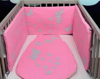 AVAILABLE * starry bumper and sleeping bag Butterfly Fairy