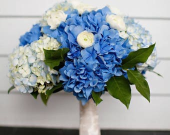 Hydrangea ranunculus Bridal Bouquet