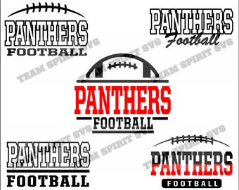 Panthers Football Pack Bundle Files - SVG, DXF, EPS, Silhouette Studio, Vinyl Cut Files, Digital Cut Files -Use with Cricut and Silhouette