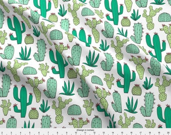 Personalized Cactus Cacti Minky baby blanket-Personalized Minky blanket-Cacti baby blanket nursery-Cactus Nursery-Baby Blanket Boy Girl