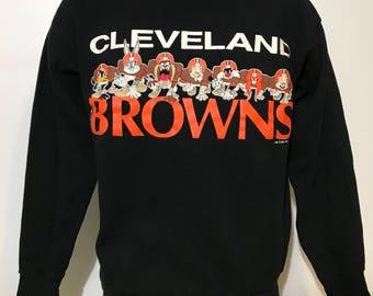 Vintage 1993 Cleveland Browns Sweatshirt S/M