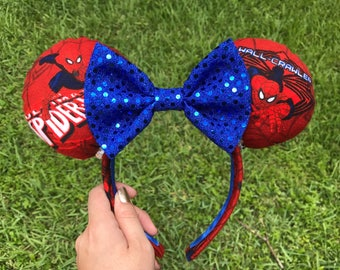 NEW Spider-Man Minnie Mouse Ears