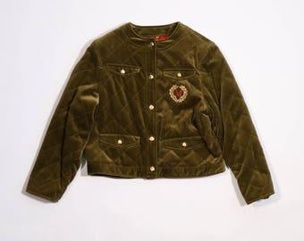MOSCHINO - Velvet jacket