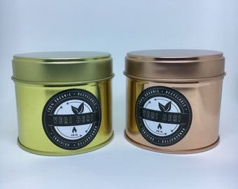 Special edition Gold/RoseGold Christmas Tin