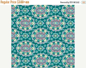 Sale Cloisonne in Lake from the Eternal Sunshine Collection by Amy Butler - Cotton Quilting Fabric