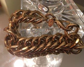 Erwin Pearl Gold Tone Link Bracelet ~ Fine Fashion Jewelry Since 1952