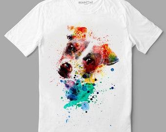 Jack Russel t-shirt, jack russel, man tshirt, designer clothing