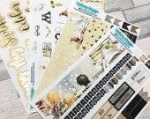 Erin condren size Harry Potter *FOILED* monthly planner sticker kit