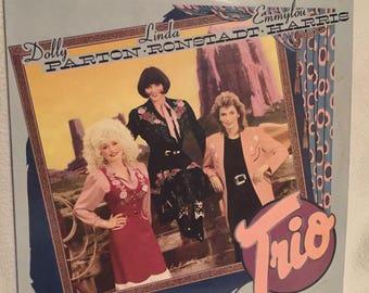 Dolly Parton Linda Rondstadt Emmylou Harris lp Trio