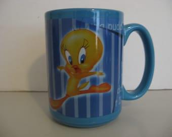 Vintage  Looney Tunes Tweety Coffee Cup/Mug