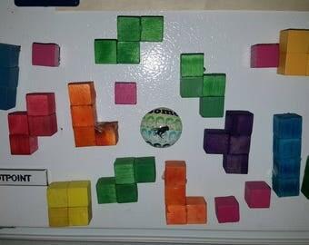 Tetris magnets