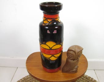 Germanu vase scheurich West 70 's retro