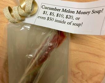 Cucumber Melon Money Soap