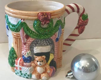 Unique Christmas coffee/Hot Cocoa Mug
