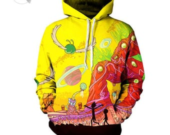 Rick And Morty 'Psychedelic' Hoodie
