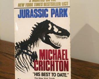 1991 Michael Crichton Jurassic Park Paperback