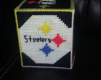 Pittsburg Steelers Tissue Box Cover