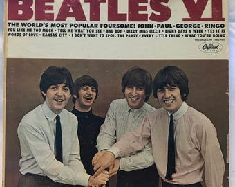 Beatles VI Vinyl - The World's Most Popular Foursome