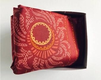 Furoshiki wrapping cloth /  Echo Copper