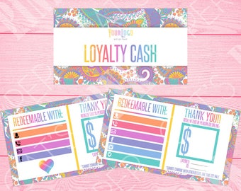 Loyalty Cash | Paisley | Customize