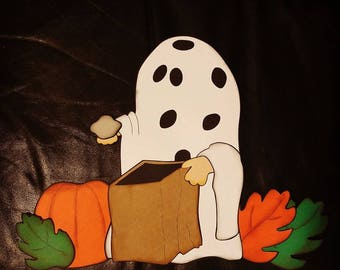 Peanuts Charlie Brown Costume Wall Sign for Halloween Super Big 3D  Decorations Trunk Or Treat Idea