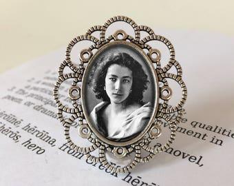 Sarah Bernhardt Brooch - Sarah Bernhardt Jewelry, Gift For Actress, Comédie-Française Brooch, Vintage Actress Brooch, Sarah Bernhardt Gift