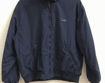 VINTAGE LL Bean Warm Up Jacket