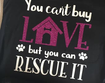 Adopt don't shop adoption animal dog cat shirt, funny shirt sayings, mom life, dog life, animal shirt, dog shirt, animal rescue shirt
