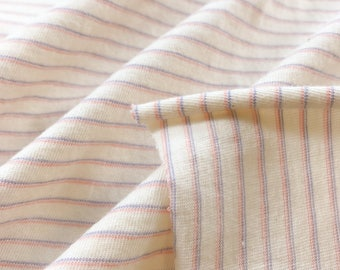 Organic Cotton Striped T-Shirt Fabric