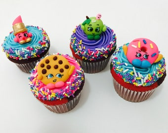 Shopkins Inspired Cupcake Topper