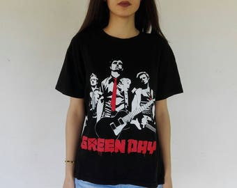 GREEN DAY Unisex T-shirts: 21st Century Breakdown, Idiot Nation, Tour Merch