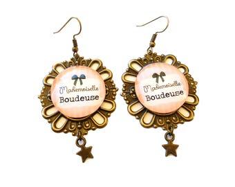 Humorous messages - Miss bird earrings