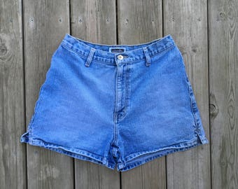 Xhilarathon Denim High Waisted Shorts Size 9