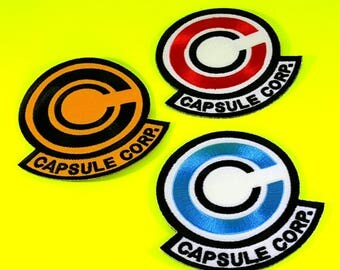 Capsule Corp patch