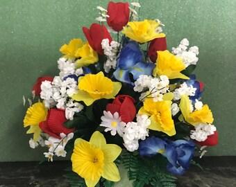 Cemetery Urn Flowers