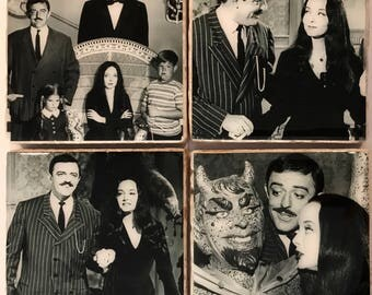 The Addams Family/ TV series Coasters